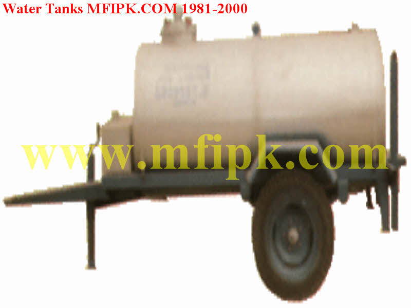 Tractor Water Tank