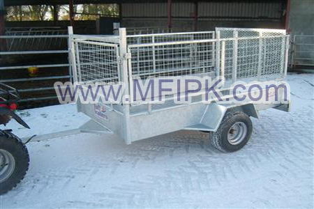 Galvanized Trailer Crate