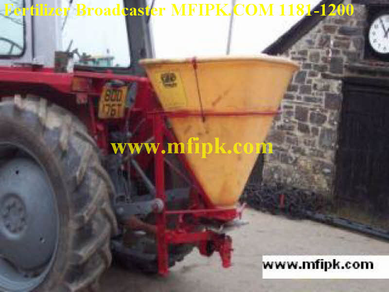 Fertilizer broad caster