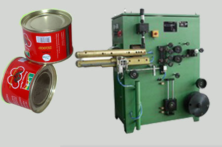 tomato paste tin can making machine