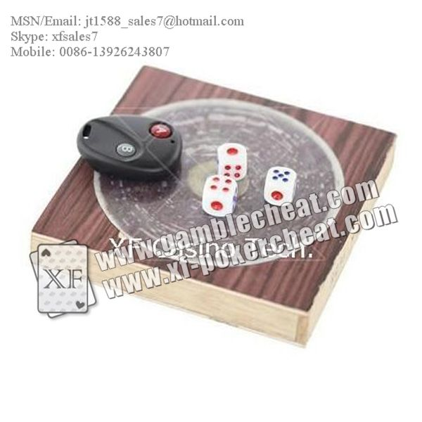 XF Remote Control Dice | No Magnet Dice/poker analyzer/poker cheat/contact lens/infrared lens/poker scanner/marked cards