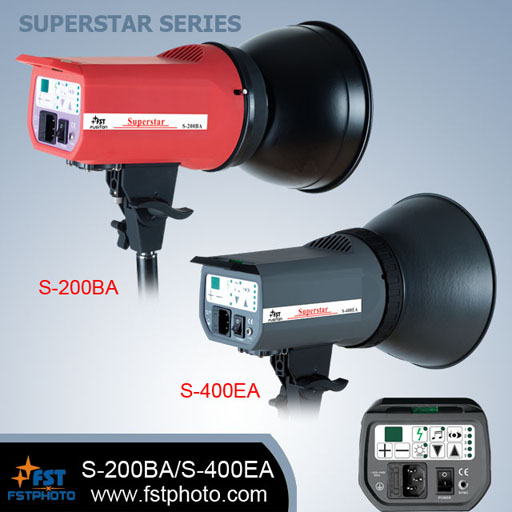 Superstar series digital studio flash light