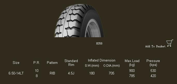 Truck/Light Truck Bias Tyre