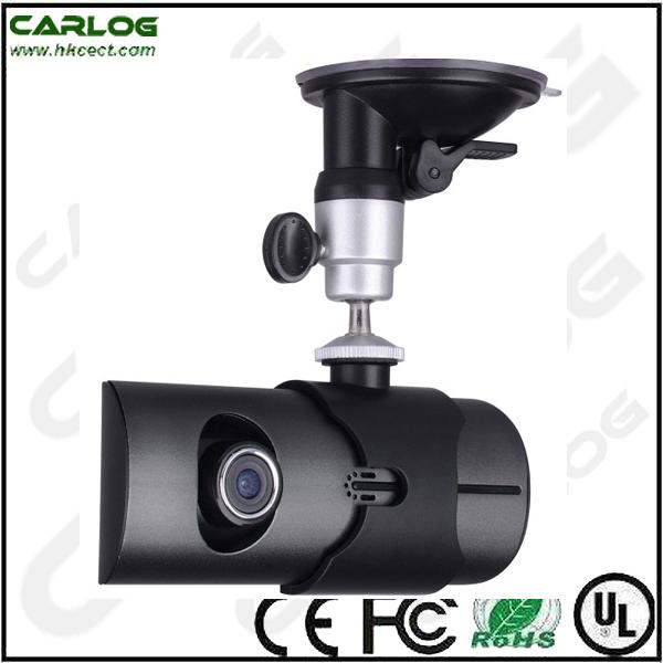 Dual lens with GPS G-sensor wide angel 120 Car black box