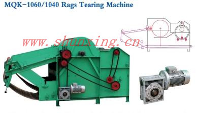 MQK-1060/1040 Rags Tearing Machine