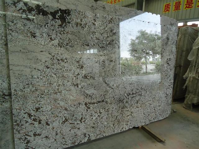 Bianco Antico Granite Slab Building Apparatus Construction