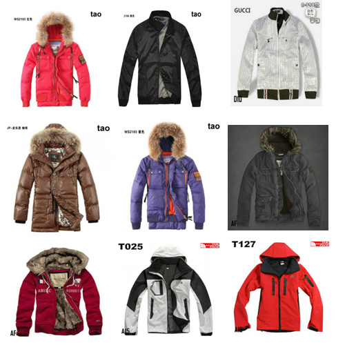 Wholesale Affliction G-Star Gucci Harley Davidson ect famous brand men's leather jackets
