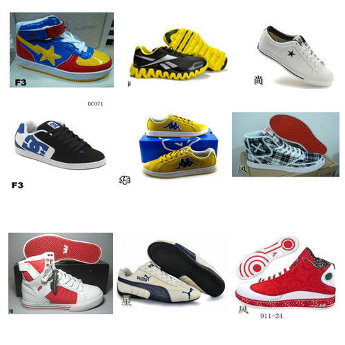 supply high quality BAPE Reebok SUPRA Converse Creative Recreation ect men's sports shoes
